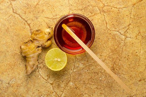 蜂蜜と生姜とレモン