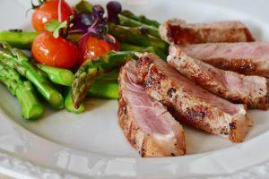 野菜と適量の肉