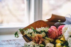 葬儀の花束