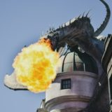 火を噴く龍